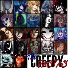 THE CREEPYPASTAS (UPDATED 2K15) by JasDavINK.deviantart.com on @DeviantArt Creepypasta Proxy, Creepypasta Cute, Creepypasta Characters, Slenderman Proxy, Jeff The Killer, Boyfriend Quiz, Creepy Pasta Family, Eyeless Jack, Laughing Jack