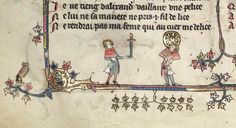 Balancing unusual objects in Oxford, Bodleian Library MS Bodley 264, completed in 1344 in Tournai.