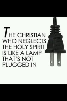 Don't neglect the God within you.