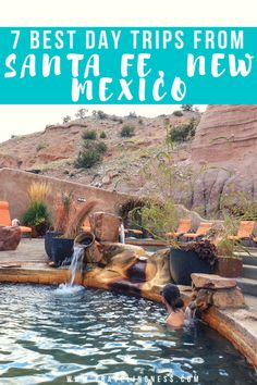 Looking for fun things to do in and near Santa Fe, New Mexico? From hiking, hot springs, beautiful landscapes and the town of Taos, find out the best Santa Fe day trips you must experience! New Mexico Vacation, New Mexico Road Trip, Mexico Travel, Vacation Spots, Mini Vacation, Tennessee Vacation, Dream Vacations, Sante Fe New Mexico, Taos New Mexico