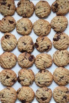 Cookies aux pépites de chocolat noir et de pralinoise