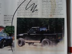 """The new Storm warrior 2 """"Thunder wagon"""" Article from Complete Kit car Magazine."""