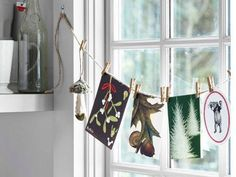 Ordinary pins and paper clips are excellent materials for creating beautiful displays with photographs, kids drawings, posters, greeting cards or other small items which bring great memories and personalize interiors