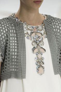 Крупным планом Chanel Haute Couture, Осенний-пасечник 2014-2015 #PFW #parisfashionweek # FW1415