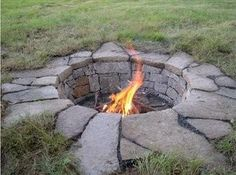 super cool diy fire pit why does Game of Thrones come to mind?