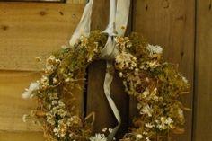 Dried British Flower Wreath British Wedding, British Flowers, Grapevine Wreath, Grape Vines, Wedding Flowers, Wreaths, Decor, Decoration, Door Wreaths
