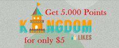 I will give you new or refill #Kingdomlikes account with over 5.000 Points. Go here for more details: http://digesale.com/jobs/internet-marketing/i-will-give-you-new-or-refill-kingdomlikes-account-with-over-5-000-points/