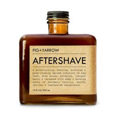 fig + yarrow after shave. Amber Bottles, Perfume Bottles, Home Spray, Fig And Yarrow, Muuto, After Shave, Earthy, Gifts For Him, Whiskey Bottle