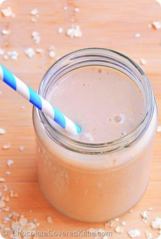 Freshly made cashew milk in a chilled jar juice diets have their peanut butter banana smoothie by chocolate covered katie high in protein and quick and malvernweather Gallery