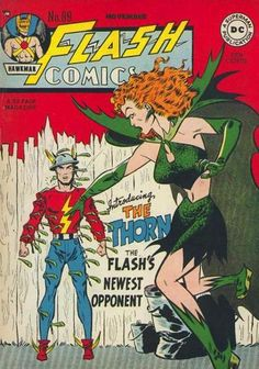Flash cover by Joe Kubert (1926-2012) from 1947. We just lost another piece of the Golden Age of Comics today.
