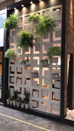 20 Amazing Wall Outdoor Design Ideas 20 Amazing Wall Outdoor Design Ideas CHAZ SILVA chazzzerrific design RETAIL DESIGNS Do you need outdoor designs ideas The first step nbsp hellip wall design Hanging Plants, Indoor Plants, Patio Plants, Hanging Gardens, Outdoor Walls, Indoor Outdoor, Outdoor Rooms, Outdoor Wall Art, Outdoor Cafe