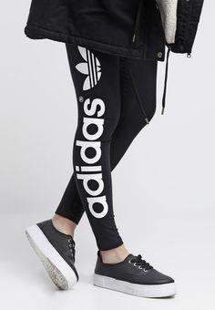 low cost 1698a ad70c adidas Originals Leggins - black - Zalando.es Comprar Zapatillas Adidas,  Jeans Casuales,