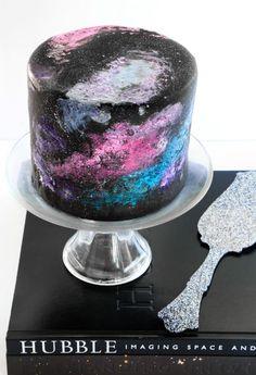 Galaxy-Torte