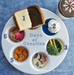 Days of Creation Muffin Tin meal