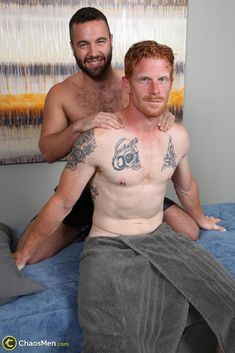 Straight Redhead Gets A Massage From Another Guy