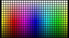 color charts - Google Search