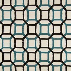 The G1598 Seaglass upholstery fabric by KOVI Fabrics features Contemporary, Geometric pattern and Black as its colors. It is a Made in USA, Cotton type of upholstery fabric and it is made of 74% Cotton, 10% Rayon, 9% Nylon, 7% Acrylic material. It is rated Exceeds 15,000 double rubs (heavy duty) which makes this upholstery fabric ideal for residential, commercial and hospitality upholstery projects.For help please call 800-860-3105.