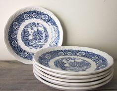China Plates Saucers Staffordshire
