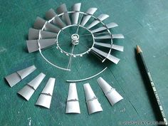 Post image for Vintage 702 aermotor windmill – adding the sails to the wheel [3]