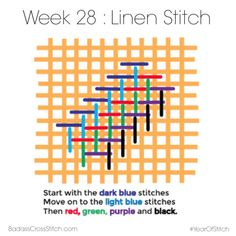 Linen Stitch 1 of 8
