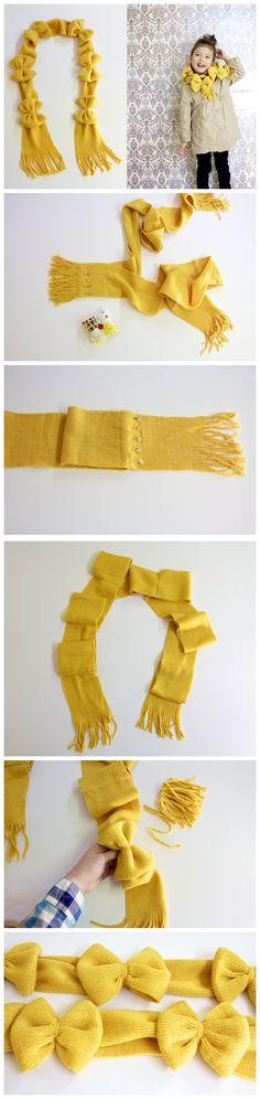 Ribbon Muffler Instruction