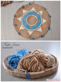 Wayuu Mochilla Bag Nasıl Yapılır Crochet Wall Hangings, Tapestry Crochet Patterns, Crochet Mandala Pattern, Knitting Patterns, Crochet Home, Crochet Gifts, Free Crochet, Knit Crochet, Crochet Handbags