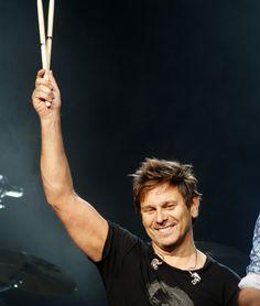 Duran Duran's Roger Taylor from the Denver concert October 4, 2011