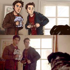 Stiles Stilinski and Scott McCall Season 3B Teen Wolf