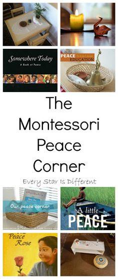 The Montessori Peace Corner:  Inspiration and Resources