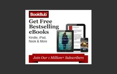 BookBub alerts you to fantastic limited-time offers that are available for Kindle, Nook, iPad, Google Play, and others. A team