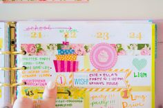 Our Holly Days  | How I repurpose the Erin Condren Life Planner morning / day / night boxes #eclifeplanner