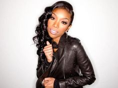 Brandy Norwood - nice hairstyle for a formal event