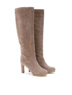 SUEDE BOOTS by Chloe