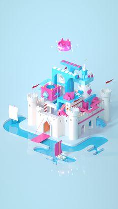 다음 @Behance 프로젝트 확인: \u201cWonder World\u201d https://www.behance.net/gallery/46798639/Wonder-World