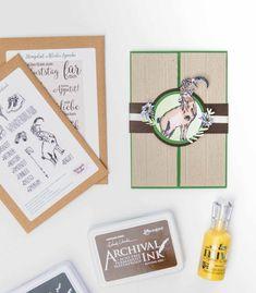 Gatefoldkarte - mit dem Stempelset Wanderurlaub! (Alles Gute zum Geburtstag) | Unsere kleine Bastelstube Diy Presents, Homemade Cosmetics, Book Folding