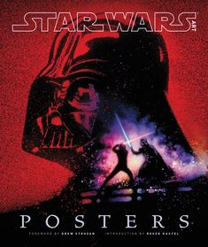 Few pieces of artwork distill the passion for Star Wars as do posters. From Tom Jung's iconic one-sheet for Episode IV to Roger Kastel's Gone with the Wind–inspired painting for Episode V and beyond, Star Wars has enjoyed nearly four decades of poster a Star Wars Film, Star Wars Books, Star Wars Poster, Star Wars Art, Star Trek, John Williams Star Wars, Starwars, Kunst Poster, Darth Vader