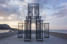 Intricate Wire Mesh Sculpture * Incipit   Design Gallerist   Rare & Unique Products