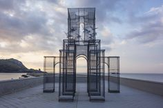 Intricate Wire Mesh Sculpture * Incipit | Design Gallerist | Rare & Unique Products