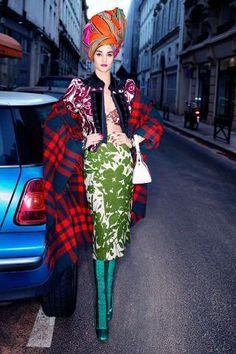 Carine Roitfeld's Spring 2014 Fashion Shoot - Carine Roitfeld Spring 2014 Fashion Editorial