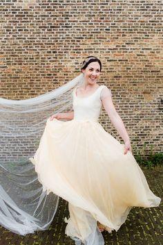 #veils  Photography: Anouschka Rokebrand Photography - www.anouschkarokebrand.com  Read More: http://www.stylemepretty.com/2014/09/05/organic-style-netherlands-wedding/
