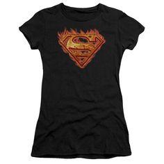 Superman: Hot Metal Junior T-Shirt