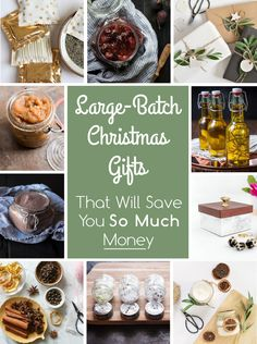 These Large-Batch Christmas Gifts Will Save You So Much Money Christmas gift suggestions – strange Christmas ideas Out of all items that we have already discove Edible Christmas Gifts, Diy Christmas Gifts For Family, Diy Holiday Gifts, Cheap Christmas, Handmade Christmas Gifts, Homemade Christmas, Christmas Treats, Xmas Gifts, Christmas Neighbor
