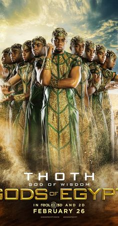 Directed by Alex Proyas. With Rufus Sewell, Gerard Butler, Chadwick Boseman, Nikolaj Coster-Waldau. A common thief joins a mythical god on a quest through Egypt. Gerard Butler, Gods Of Egypt Movie, White God, Image Internet, Cinema Tv, Kino Film, Adventure Film, Fantasy Movies, Love Movie