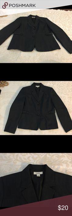 Travis Ayers For dressbarn Travis Ayers For dressbarn Charcoal Gray Travis Ayers fir dressbarn Jackets & Coats Blazers