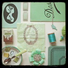 laduree green.