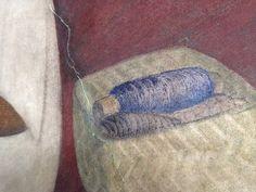 Detail muurschildering Diego