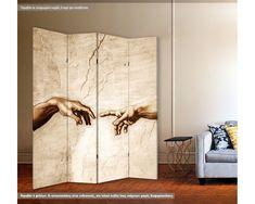 Παραβάν, Creation of Adam detail Divider, Detail, Room, Furniture, Ideas, Home Decor, Bedroom, Decoration Home, Room Decor