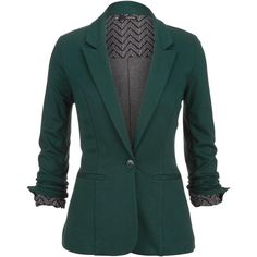 Shop for a green Chevron cuff knit blazer at Maurices.com. Read reviews and browse our wide selection to match any budget or occasion.