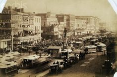 Canal Street, New Orleans, Louisiana,  in 1870