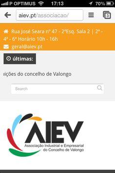 #Web page AIEV by #indiferenca.com